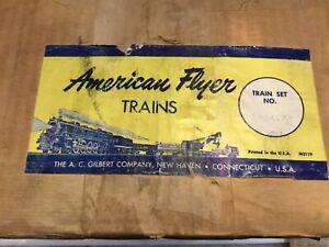 A C Gilbert American Flyer K5417t Diesel Work Train set in Original Set Box