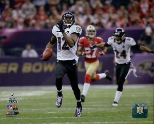 Jacoby Jones Baltimore Ravens NFL Licensed Unsigned Matte 8x10 Photo A