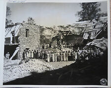 WWII PHOTO  BURMESE NURSES In BOMBED OUT HOSPITAL BURMA SURGEON LT COL SEAGRAVES