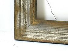 SANFORD WHITE GILDED DISTRESSED  FRAME FOR PAINTING 13 1/2 X 10 3/4 INCH (d-45)