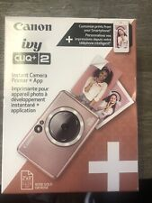 Canon - Ivy CLIQ+2 Instant Film Camera - Rose Gold