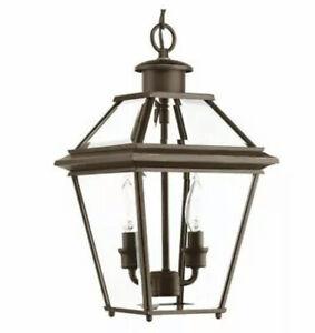 BRAND NEW PROGRESS LIGHTING P6537-20 Burlington Two-Light Hanging Lantern