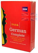 BBC Learn Talk German Complete - 4 CD-Audio, 2 Course Books Plus Grammar Guide