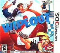 Wipeout 2 Nintendo 3DS Kids Family Game Show Complete