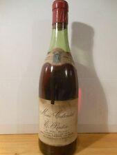 Cassis Vin Rouge Années 60 (Sans Millésime) Mas Calendal - Une Bouteille De Vin