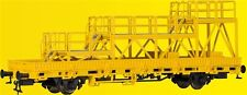 Kibri 26262 Güterwagen Niederbordwagen mit Arbeitsbühne GleisBau H0