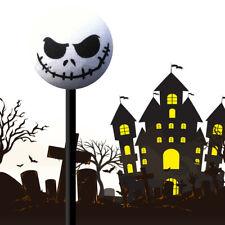 1x Unique Halloween Skull EVA Antenna Topper Aerial Ball Toy White Decoration