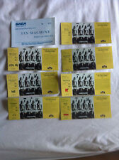DAVID BOWIE TIN MACHINE 8 x EUROPEAN CONCERT TICKETS  1991 Glossy Reproduction