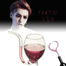 Unique Vampire Wine Glass Suck Vodka Shot Cup Whiskey Drinking Wineglass Mug TR
