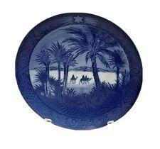 Royal Copenhagen 1972 Porcelain Christmas Plate - In the Desert