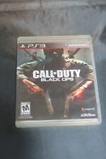 Call Of Duty Black Ops PS3 Video Game Sony Playstation Good Condition W/ Case