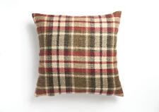 Tweed 17in X 17in Cushion Cover in Red
