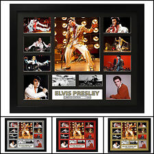 Elvis Presley Signed Framed Memorabilia Limited Ed. 2017 - Multiple Variations