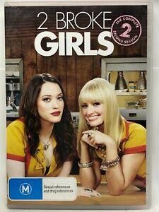 2 Broke Girls - Season Two - 3  DVD Set - AusPost with Tracking