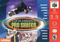 Tony Hawk's Pro Skater Nintendo 64 N64 Tested Cart Only Authentic