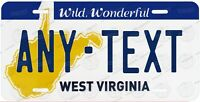 West Virginia 1982 Style Any Text Personalized Novelty Auto Car License Plate