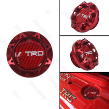 TRD Racing Red Engine Oil Filler Cap Oil Tank Cover Aluminium For TOYOTA