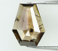 Natural Loose Diamond Coffin Brown Color I3 Clarity 7.20 MM 0.57 Ct N8766