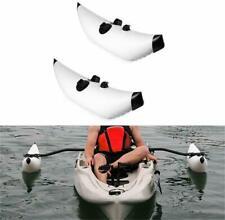 PVC Inflatable Kayak Outrigger Stabilizer System Canoe Fishing Boat Float Tube