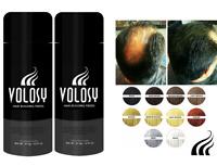 Volosy Hair Building & Thickening Keratin Natural Fibers 27.5g/ 0.97 Oz set of 2