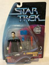 MOC 1999 LT Commander Data - Starfleet Command - Star Trek - Playmates Target