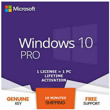 WINDOWS 10 PRO PROFESSIONAL GENUINE LICENSE 🔑 KEY 🔑 INSTANT DELIVERY