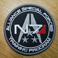 Mass Effect Game 3 inch Alliance Special Forces Training Program Uniform Patch