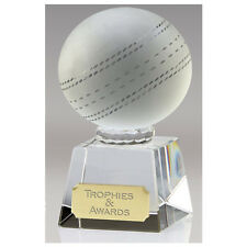 OKO26B CRYSTAL CRICKET TROPHY SIZE 11.25 CM FREE ENGRAVING 35% OFF