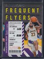 2020-21 PANINI HOOPS FREQUENT FLYERS LEBRON JAMES #3