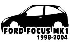 Ford Focus MK1 2001 - 2004 Vinilo corte adhesivo calcomanía adhesivo Libre P&P Ford Focus