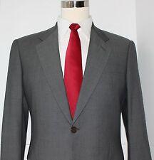 Giorgio Armani Collezioni One Button Gray Wool Suit Size 39 Regular 31 30 Pants
