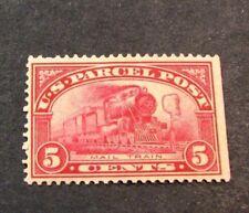 Us Stamp Scott# Q5 Mail Train 1913 Mh L160