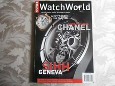 0024 watchworld magazine vol 5 issue 1 sports timing breguet&Churchill cartier