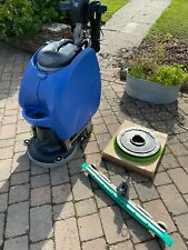 More details for refurbished numatic floor scrubber dryer tt3450 twin tank large cleaning machine