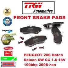 Para Peugeot 206 Hatch Sedán Sw cc 1.6 16V 109bhp 2006- > en Adelante