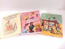 3 book lot Kids A Place for Me 365 Stories for Girls Peter Rabbit and Friends