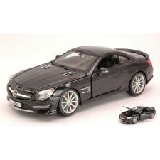 Mercedes SL 65 AMG 2009 Black 1 24 Burago Auto Stradali Die cast Modellino