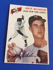 1954 Topps Hoyt Wilhelm New York Giants #36 Baseball Card EX-MT