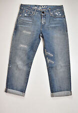 G-Star Raw 7/8 Jeans, Corvet Kate Tapered, TGL W27 L28 7/8 NUOVO