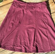 ATHLETA Skirt Sz SP-Chianti Red
