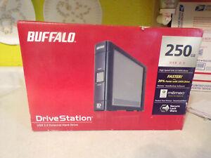 Buffalo Drive station USB 2.0 External hard drive 250GB