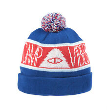 Poler Stuff Camp Vibes Beanie Patriotic Camping Outdoors Skateboarding
