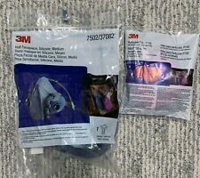 3M 2097/P100 particulate filters with 3M 7502
