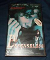 DEFENSELESS VHS PAL BARBARA HERSHEY SAM SHEPERD