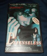 DEFENSELESS VHS PAL BARBARA HERSHEY SAM SHEPERD