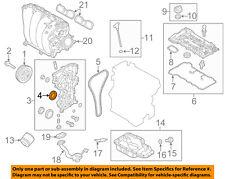 KIA OEM 14-16 Soul Engine Parts-Crankshaft Crank Seal 214212E300