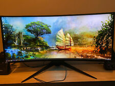 """Dell Alienware AW3418DW 34"""" 21:9 Curved IPS LCD Gaming Monitor"""