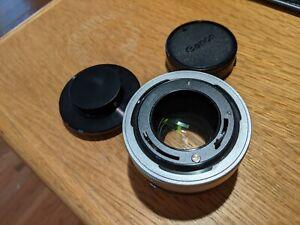 Canon 1.4X A  Teleconverter, for Canon FD Mount, Breech Lock with Caps