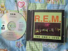 R.E.M. – The One I Love Label: I.R.S. Records – DIRMT 178 UK CD Single