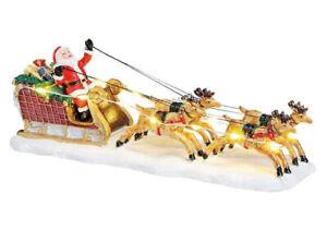 Wurm 55802, Rentierschlitten, Weihnachtsdorf, Weihnachtsstadt, Santa Claus